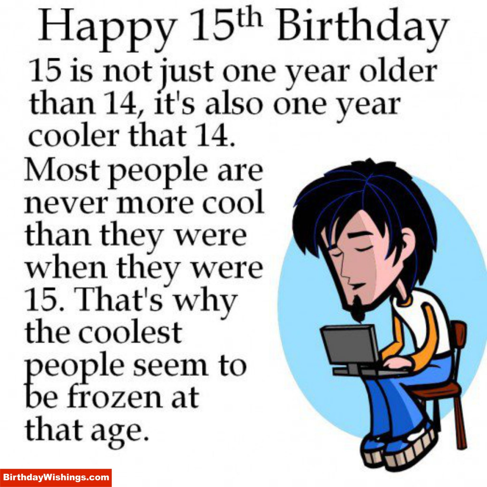 Happy 15th Birthday Poem