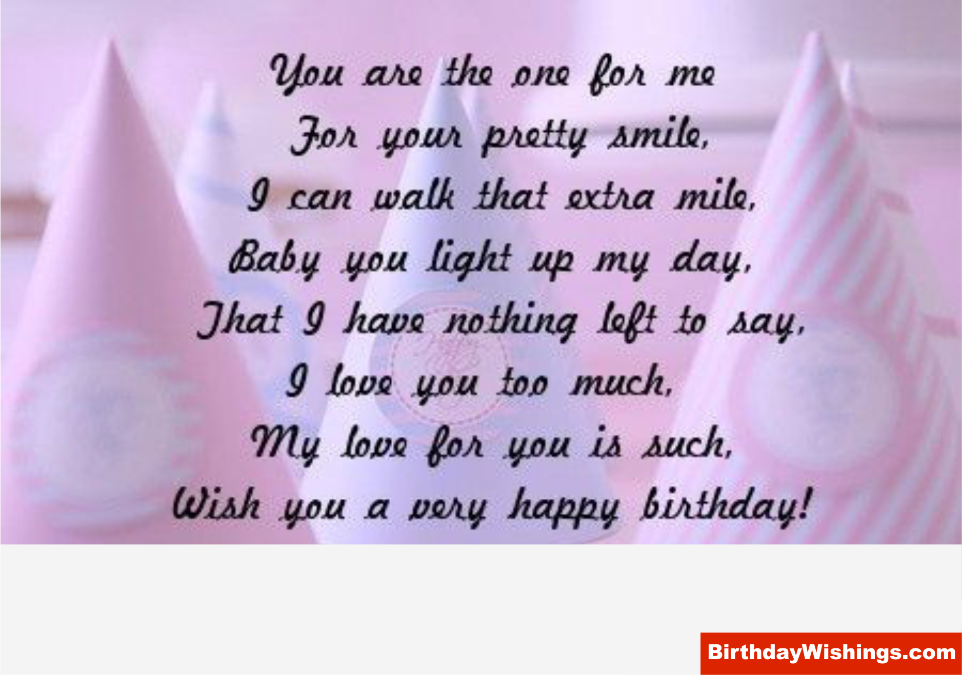 Birthday Poem For Some One Special