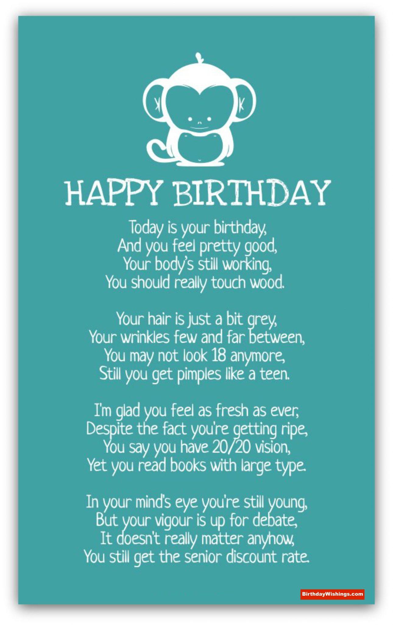 girl birthday poems