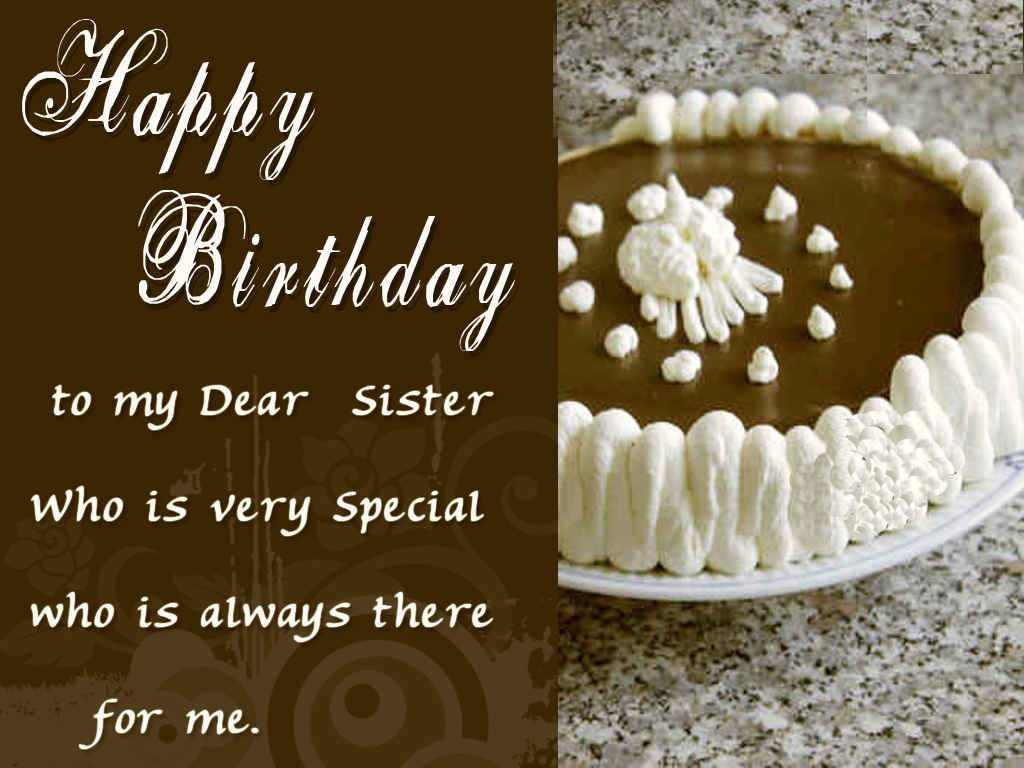 Best Happy Birthday Messages For Your Sister