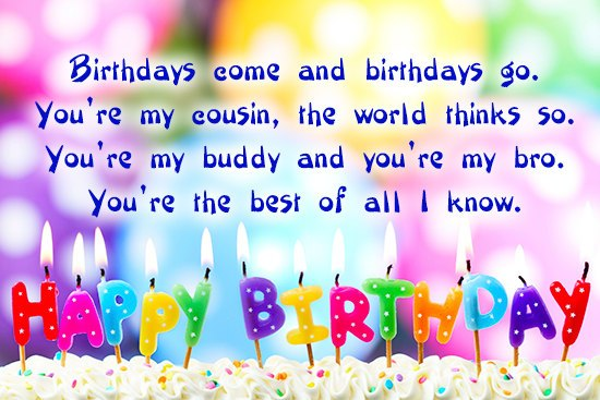 40+ Greatest Happy Birthday Quotes For Cousin