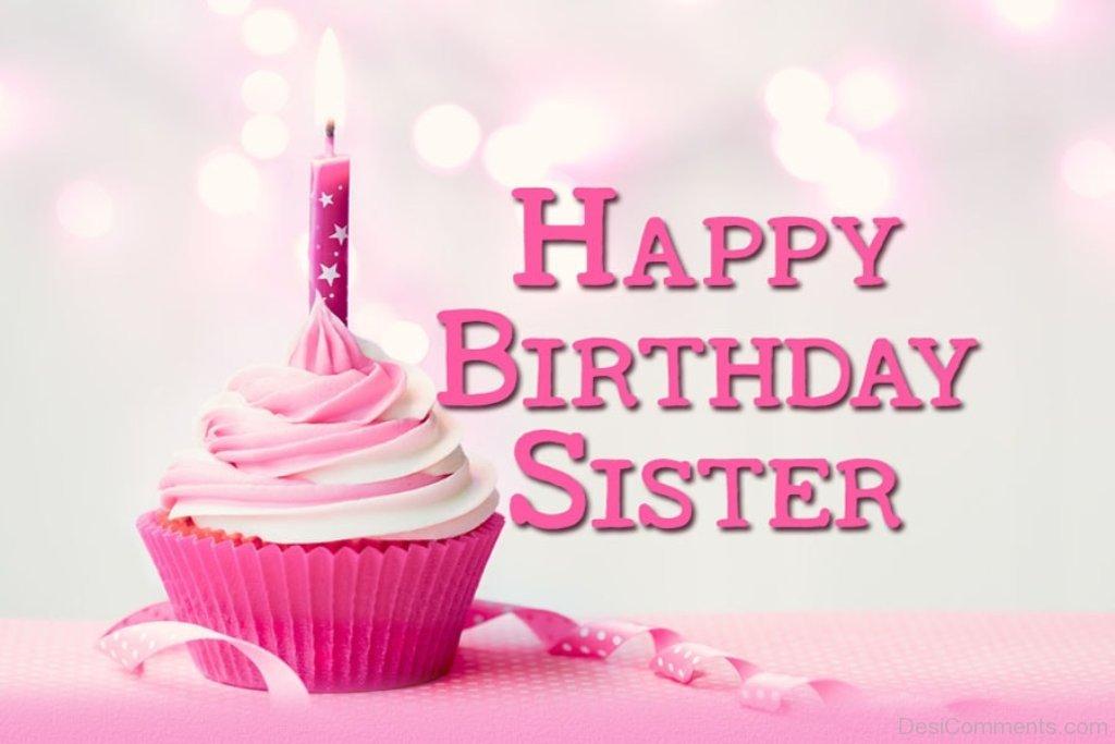 Поздравление на день рождения сестры на английском
