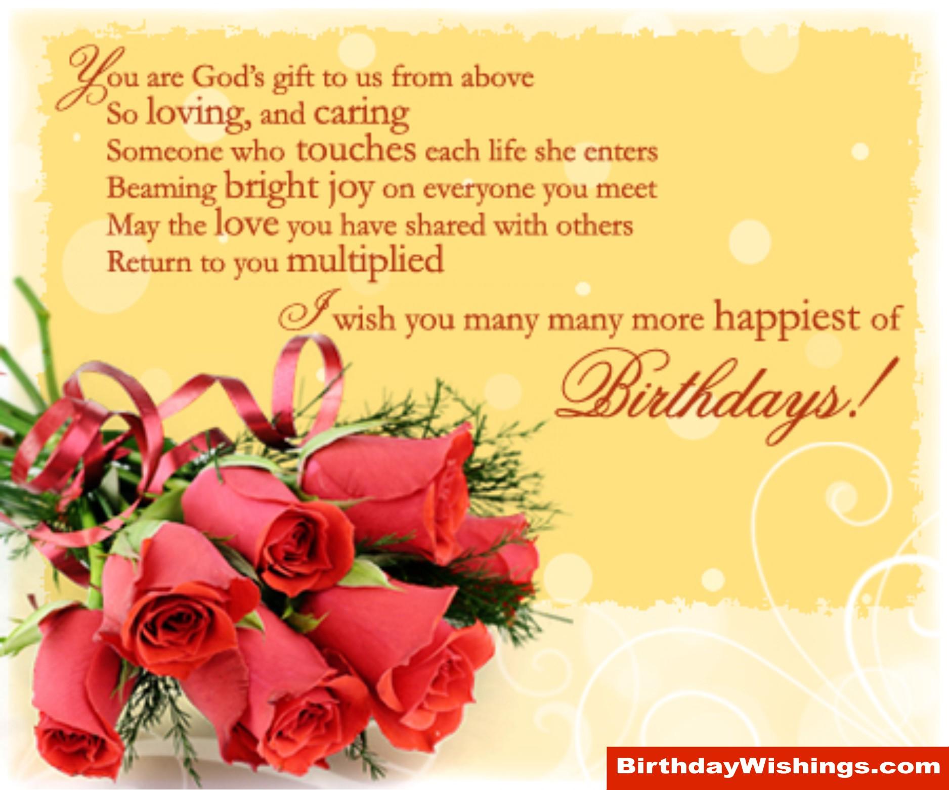 Loving Birthday Poem For Special One