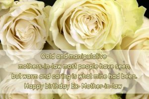 47 Happy Birthday Mother in Law Quotes - BirthdayWishings com