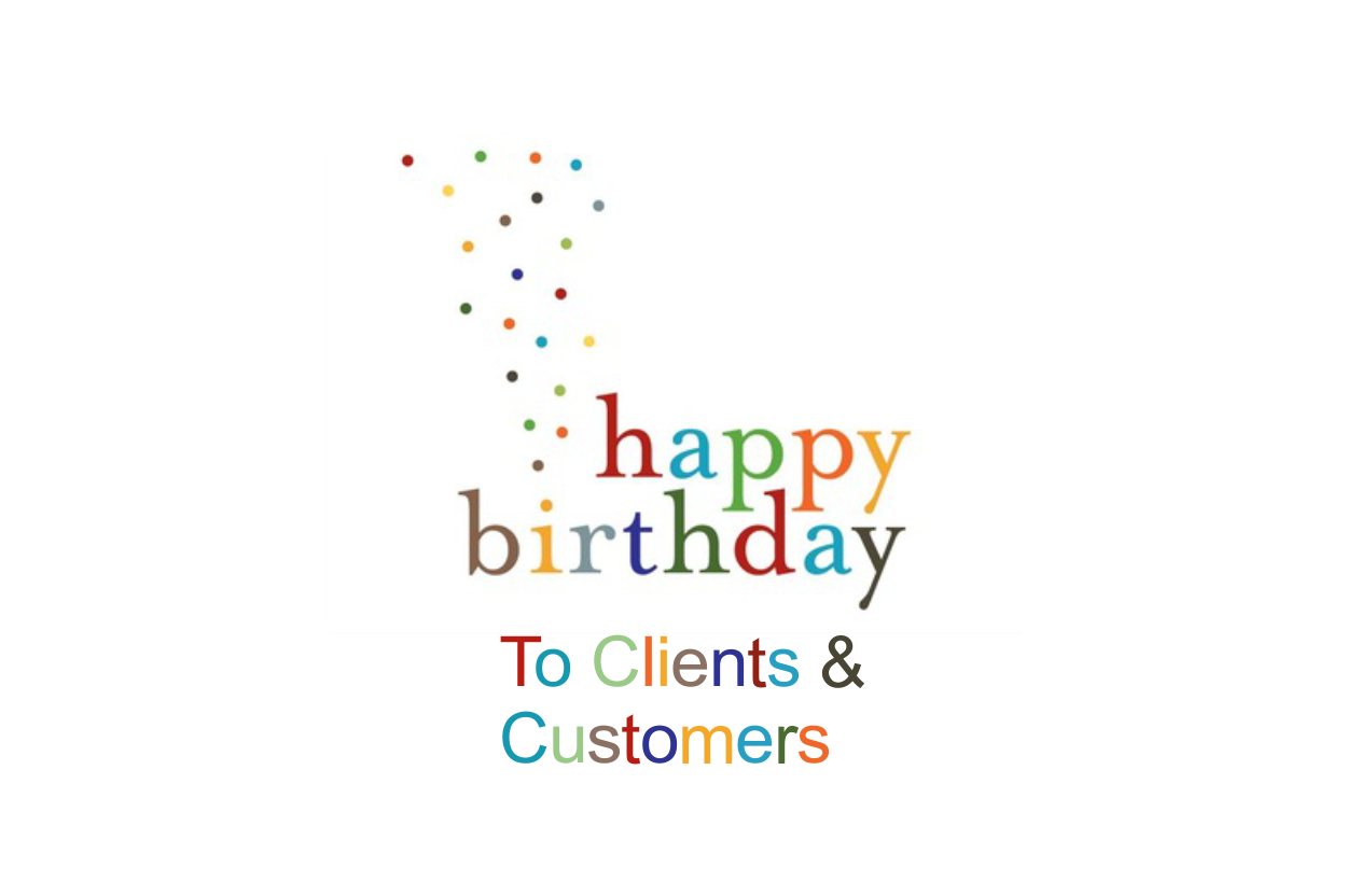 Birthday Wishes for Clients and Customers