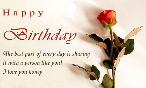 Romantic Birthday Wishes with Images BirthdayWishings – Birthday Cards for Someone You Love