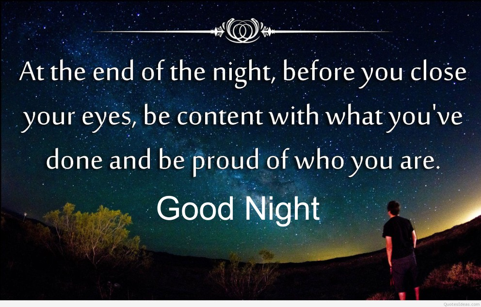 Motivational and Famous Goodnight Quotes