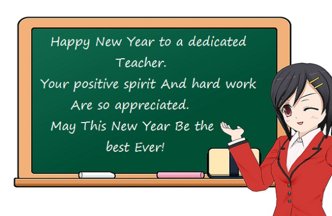 20+ New Year Messages for Teachers