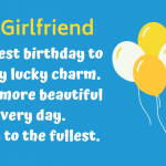 Romantic Birthday Wishes Quotes For Girlfriend